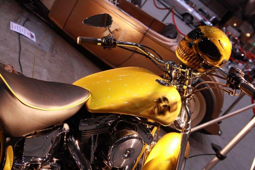 motorcykel döskallar