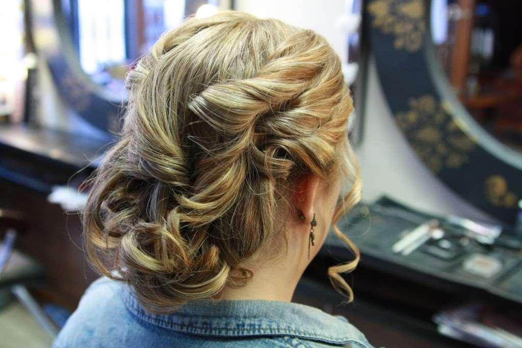 wedding hair style bob