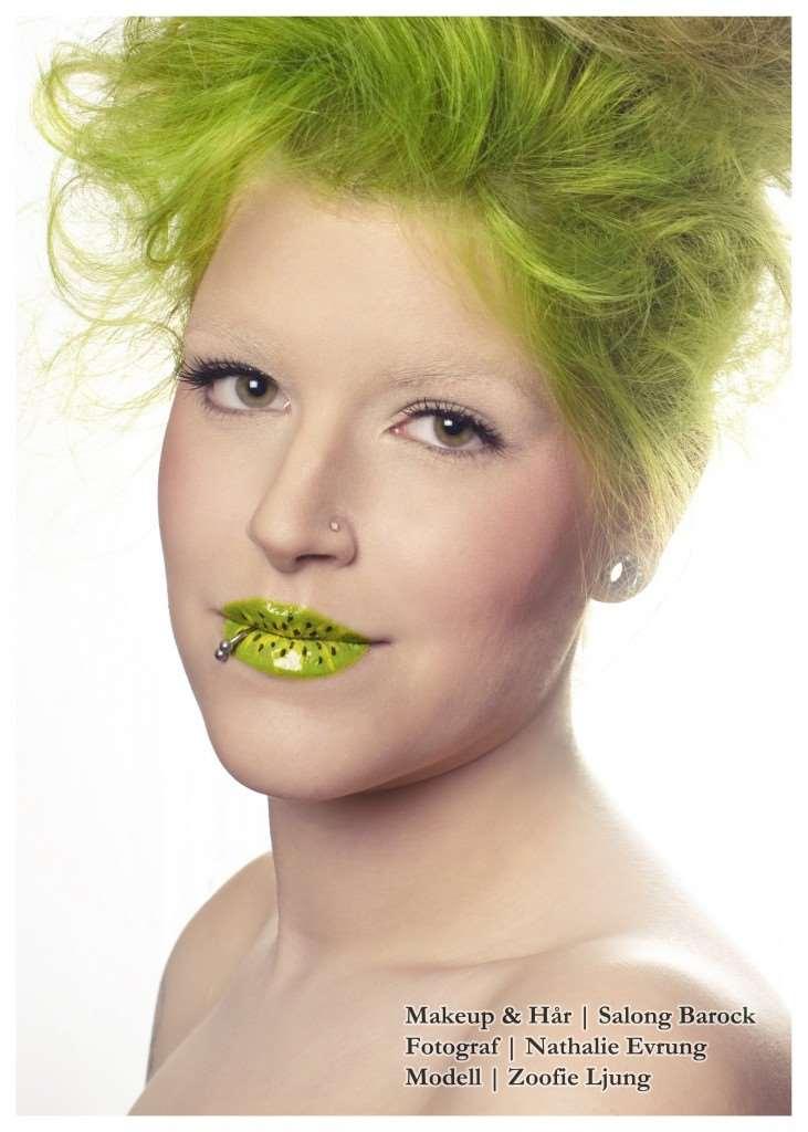 fruits makeup