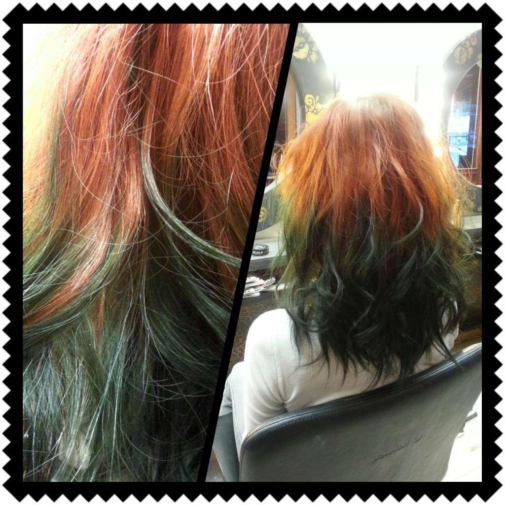 annorlunda hårfärg
