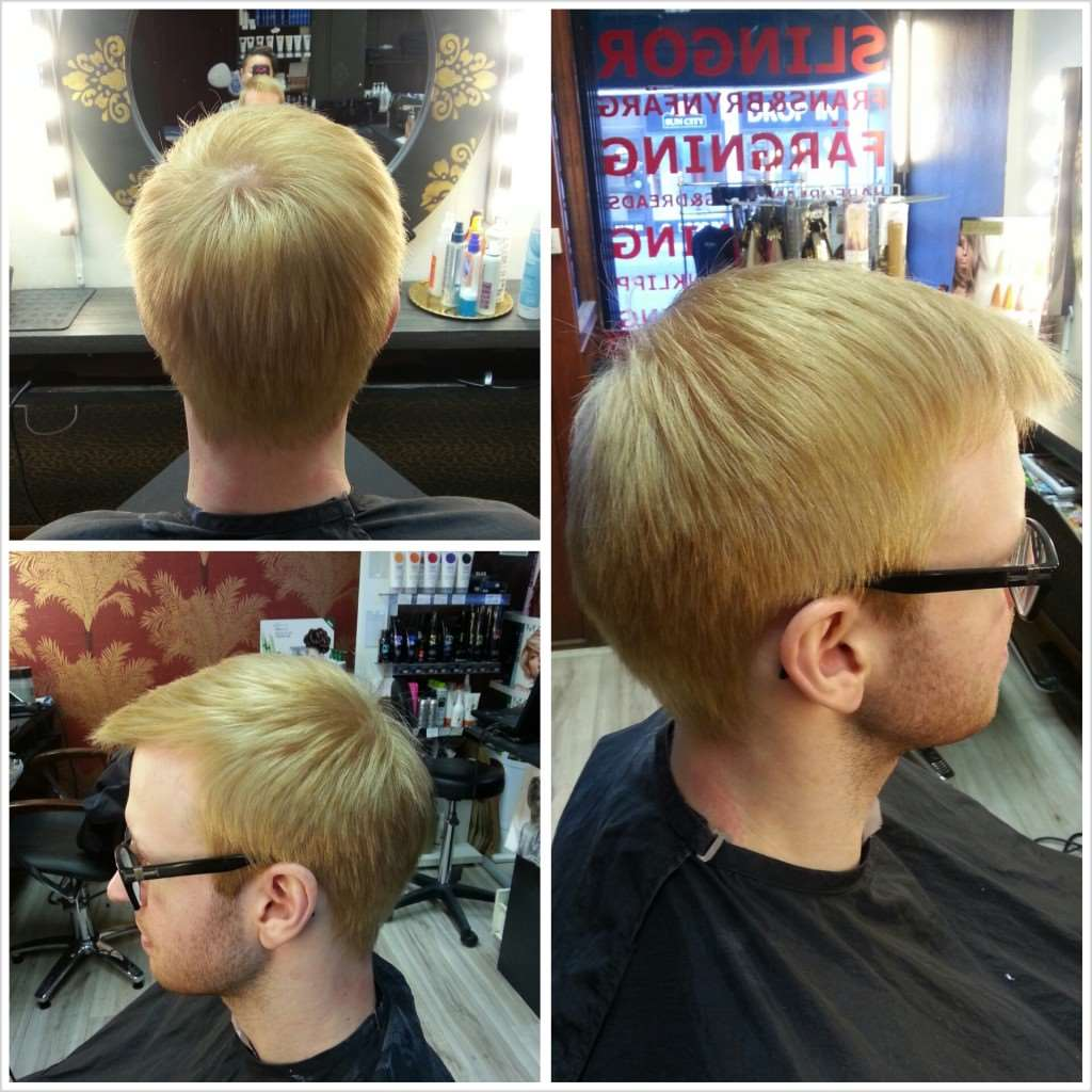 guy hair color