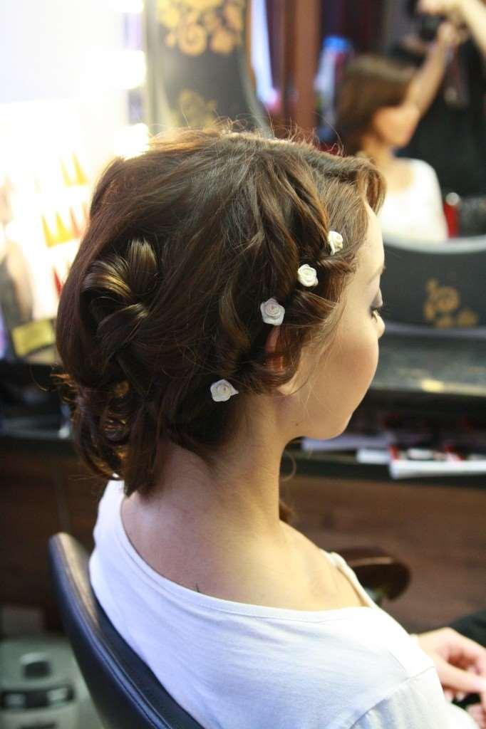 rosebud hair