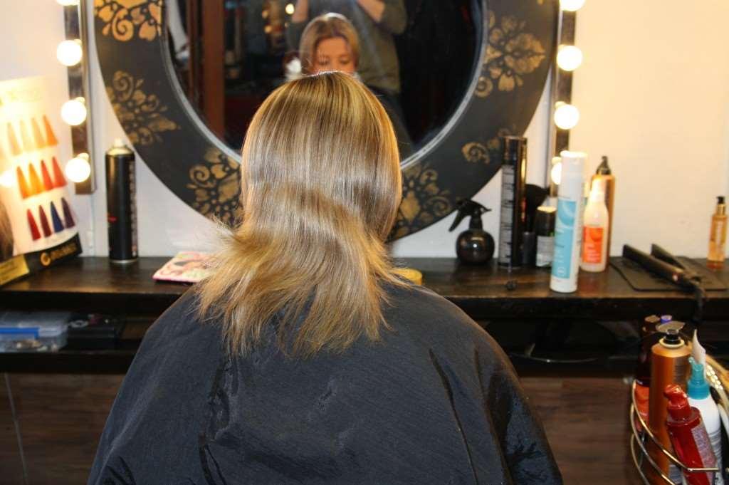 risigt hår