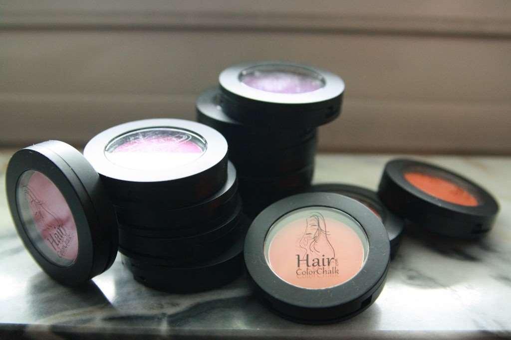hair tint chalk colour