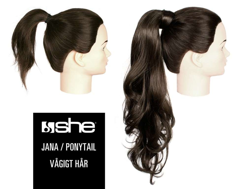 jana ponytail wave