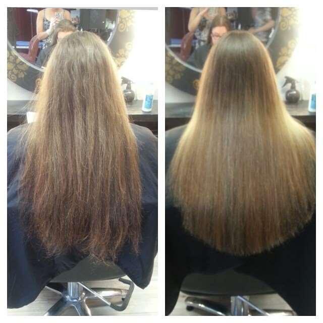 ombre long summer hair