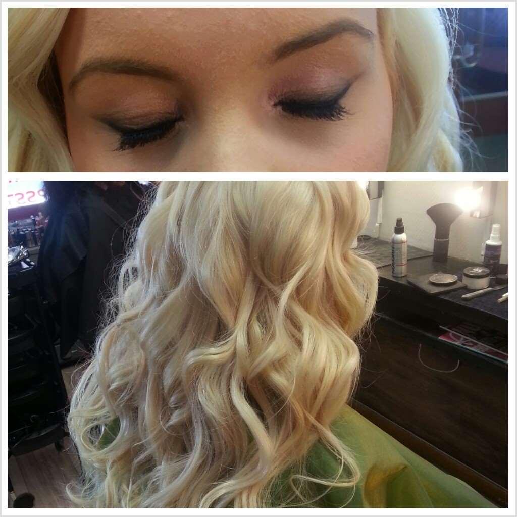 girl makeup hair