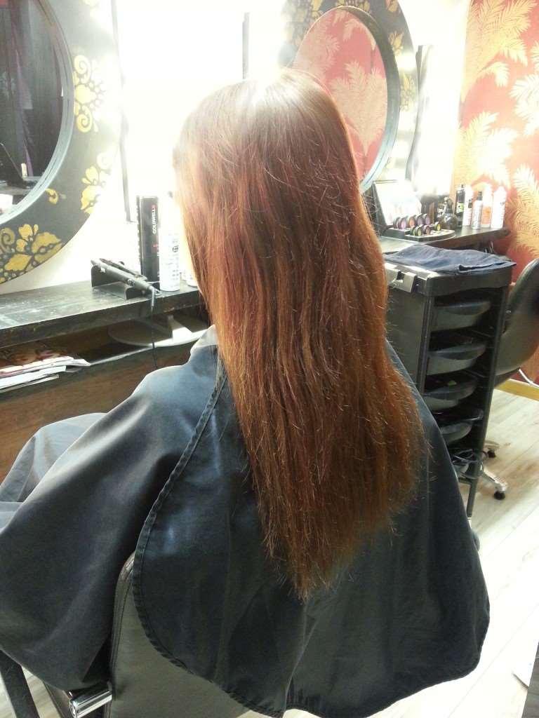 janinas hår