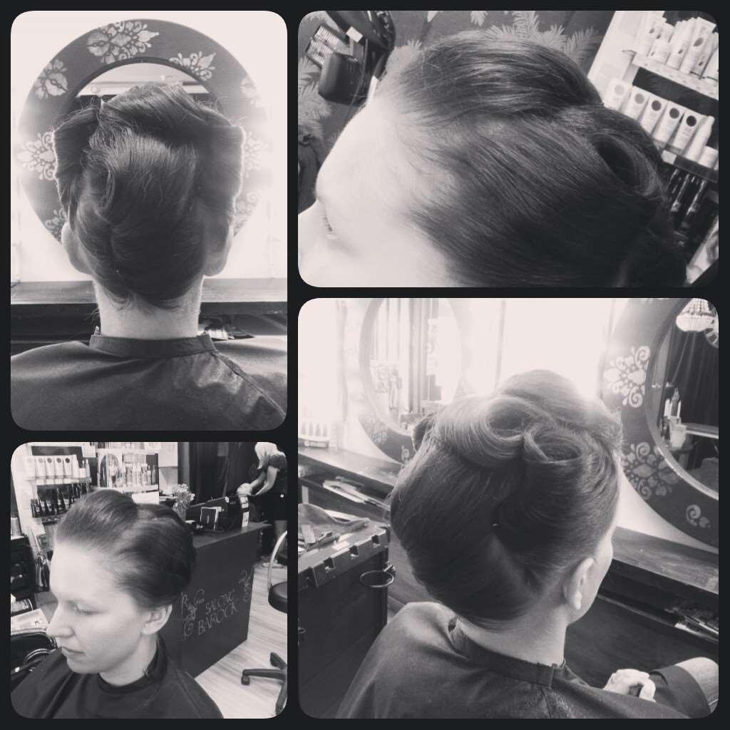 vintage hairstyling