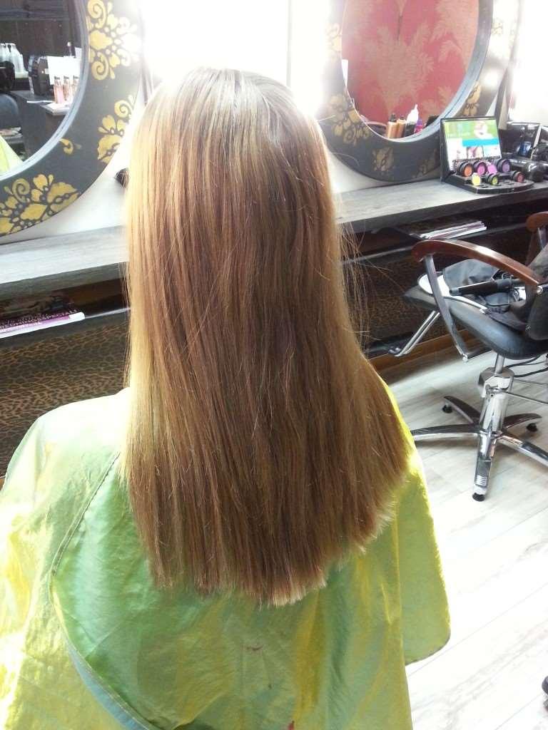 before haircolor