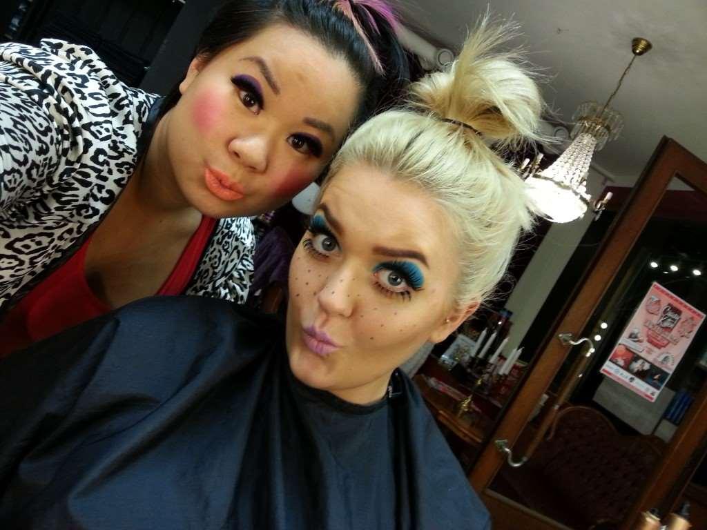 makeup dolls