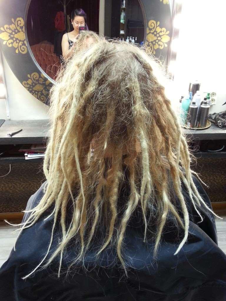 dreads makeover