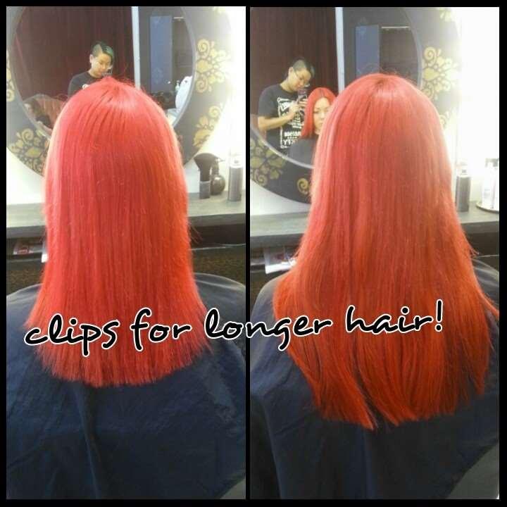 clip in hår