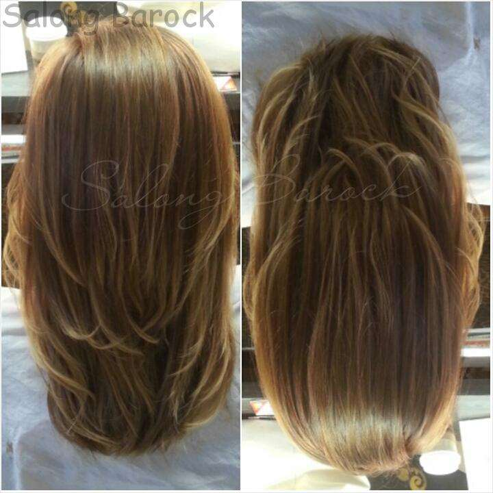 balayage brown